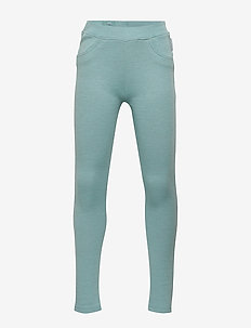 Trousers w frill Preschool - MARINE BLUE