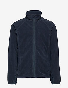Zip Up Fleece Solid School - DARK SAPPHIRE