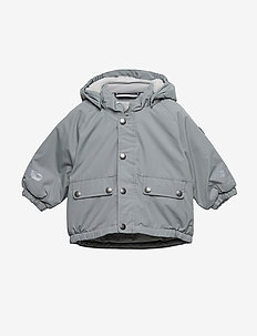 Jacket Padded Solid Baby - MONUMENT