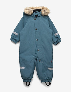 Overall Solid Baby - STORM BLUE