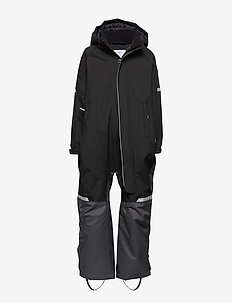 Overall Padded Solid Preschool - snowsuit - black
