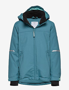 Jacket Padded Solid School - STORM BLUE
