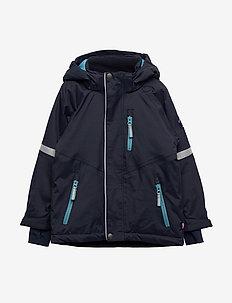 Jacket Padded Solid PreSchool - DARK SAPPHIRE