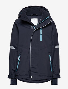 Jacket Padded Solid School - DARK SAPPHIRE