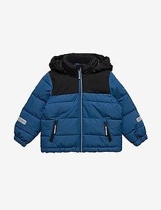 Jacket Padded Solid PreSchool - DARK BLUE