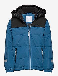 Jacket Padded Solid School - DARK BLUE