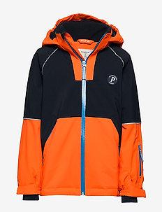 Jacket Padded Solid School - wyściełana kurtka - flame
