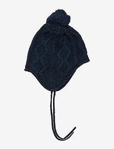 Cap Knitted Solid Baby - hatter - dark sapphire