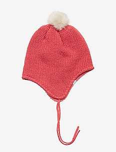 Cap Knitted Solid Baby - hatter - fruit dove