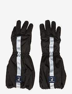 Glove Solid PreSchool - BLACK