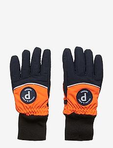 Glove 2 colour School - FLAME
