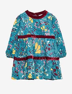Dress AOP Pre- school - STORM BLUE