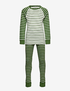 Pyjamas Striped School - WILLOW BOUGH