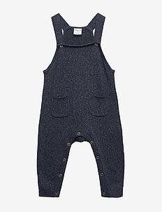 Jumpsuit Knitted Baby - hängselbyxor - dark sapphire