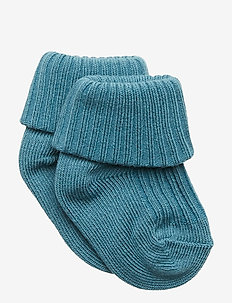 Sock Solid Baby - STORM BLUE