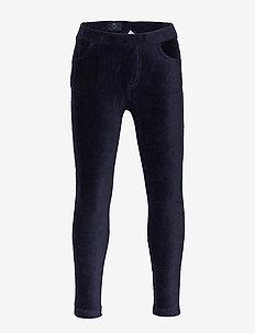 Jersey cord trousers School - DARK SAPPHIRE
