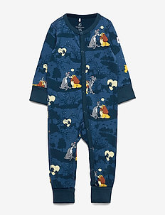 Pyjamas AOP Baby - DARK BLUE