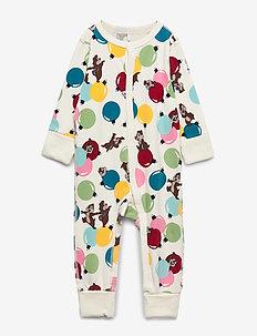 Pyjamas AOP Baby - EGRET
