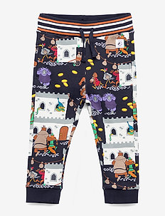 Disney Collection Trousers Jersey AOP Preschool - DARK SAPPHIRE