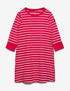 Nightdress L/S Striped Preschool - SKI PATROL