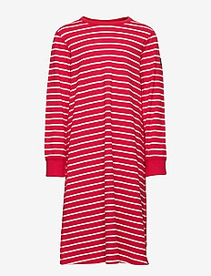 Nightdress L/S Striped School - SKI PATROL