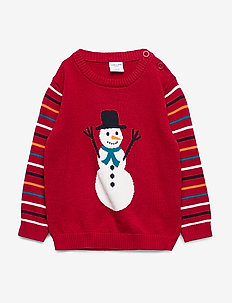 Sweater Knitted Pre-school - CHILI PEPPER