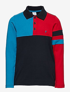 Top l/s with collar School - koszulki polo - dark sapphire