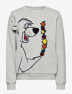 Disney Collection Sweater l/s  School - GREYMELANGE