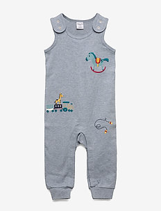 Overall Embroidery Baby - BLUEMELANGE