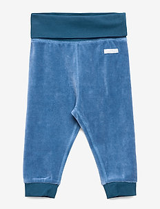 Trousers Velour Baby - DARK BLUE