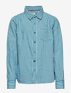 Shirt l/s Checked School - CELESTIAL