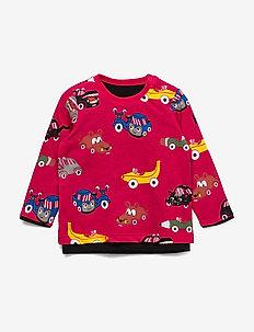 T-shirt  L/s  print Preschool - long-sleeved t-shirts - black