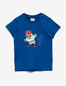 T-shirt Frontprint s/s Preschool - PRINCESS BLUE
