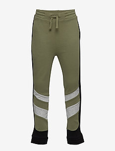 Trousers Jersey School - trousers - olivine
