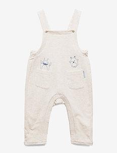 Jumpsuit Solid Baby - ECRU MELANGE