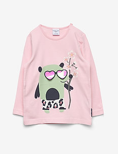 Top L/S applique Preschool - ROSE SHADOW