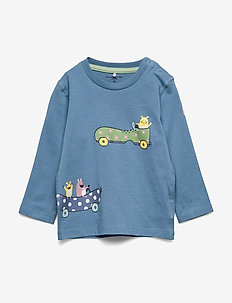 Top L/S Baby - long-sleeved t-shirts - blue heaven