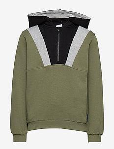Sweatshirt hood School - bluzy z kapturem - olivine