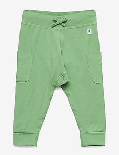 Trousers w pockets Baby - SMOKE GREEN