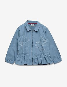 Zip Up jacket Preschool - vindjakke - blue heaven