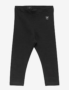 Leggings Solid Preschool - leggings - black