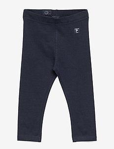 Solid color leggings - leggings - dark sapphire