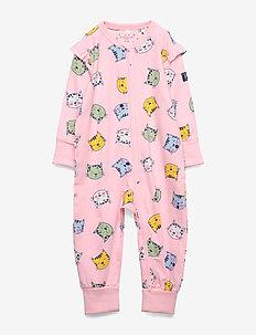 Pyjamas Overall AOP Baby - ROSE SHADOW