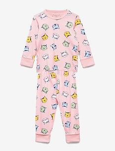 Pyjamas AOP Preschool - sett - rose shadow