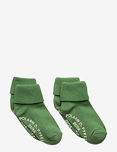 Socks 2-pack Solid Preschool - MINERAL GREEN