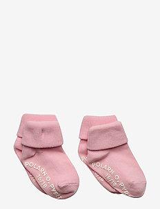 Socks 2-pack Solid Preschool - ROSE SHADOW