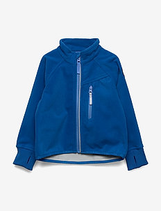 Jacket Windfleece Solid Preschool - fleeceklær - princess blue