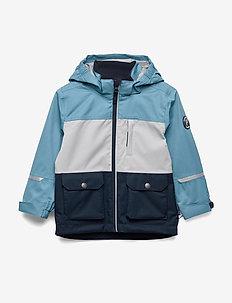 Jacket Shell Solid Preschool - BLUE HEAVEN