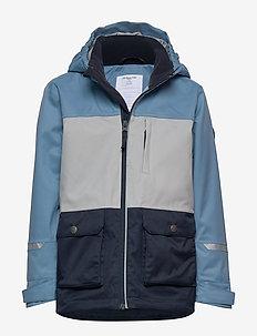 Jacket Shell Solid School - kurtka typu shell - blue heaven