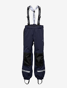 Trousers Shell w Suspendor PreScool - pantalons - dark sapphire